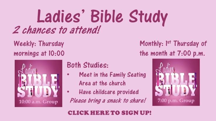 sept 26 ladies bible study